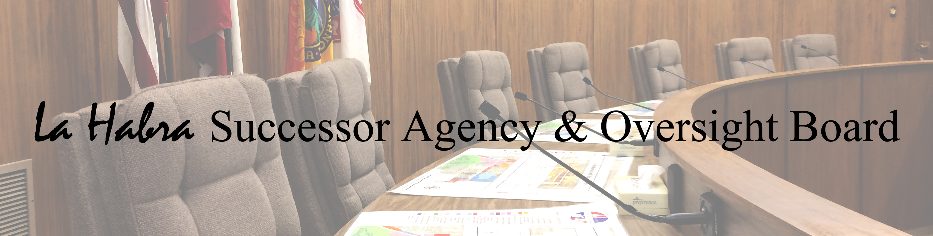 La Habra Successor Agency and Oversight Board