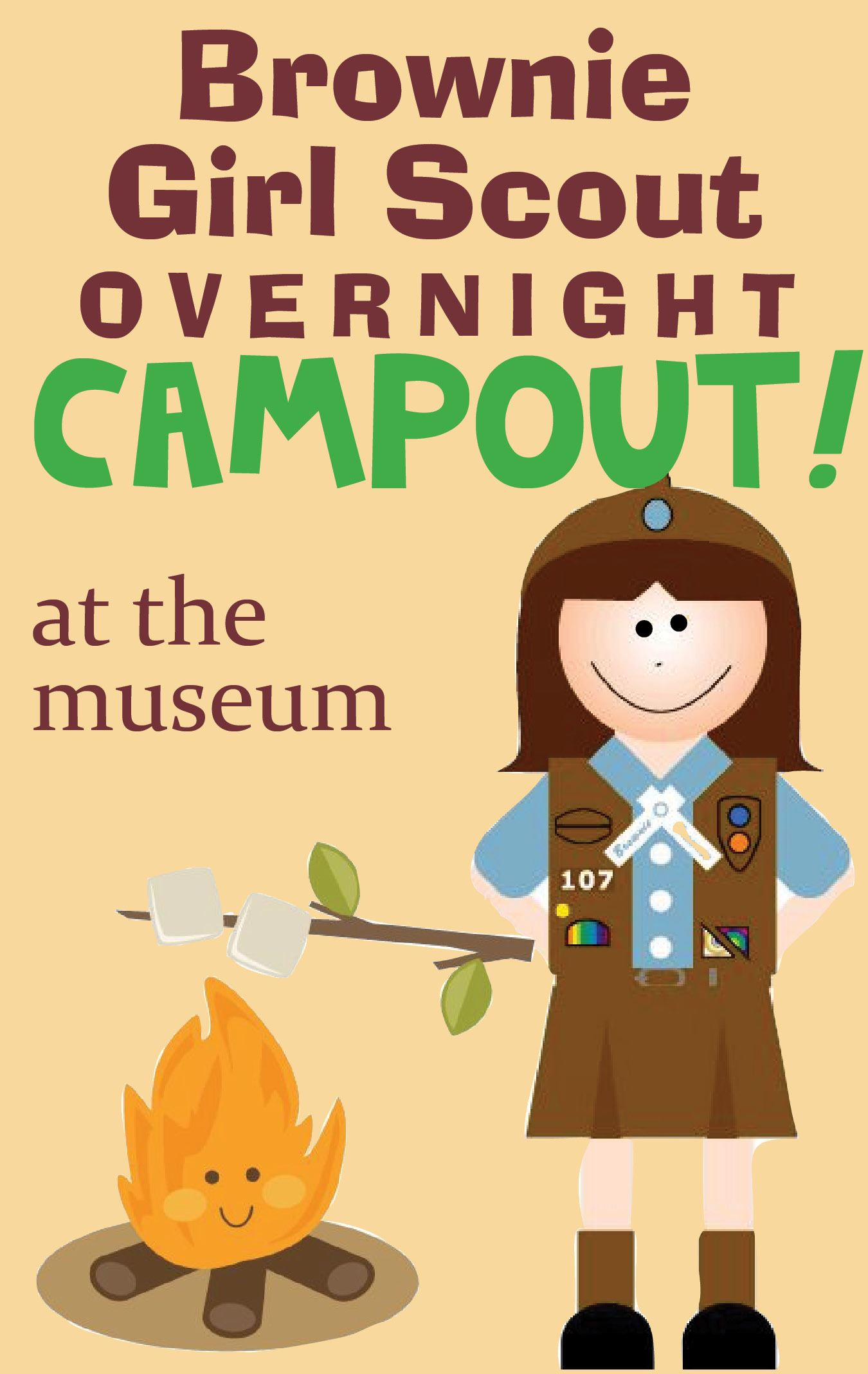 girlscout overnight 18